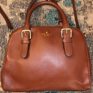 Kate Spade Brighton Park Pebble Felix Purse Brown